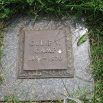 Ollie Whitney Long Camp's grave