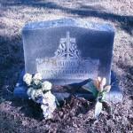 Lillian Blagg's grave